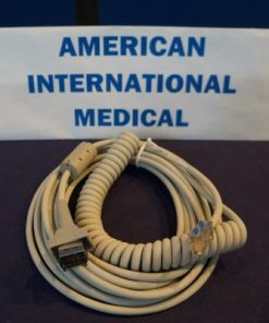 AM-4/AM-5 COILED PATIENT CABLE(MAC PC)
